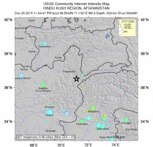 cutremur pakistan