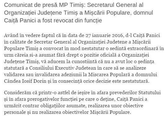 comunicat PMP 2