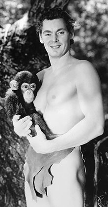 Weissmuller in Tarzan the Ape Man (1932).