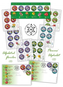 Alfabetul florilor II CU DRAG_Flowers' Alphabet II CU DRAG, With Love