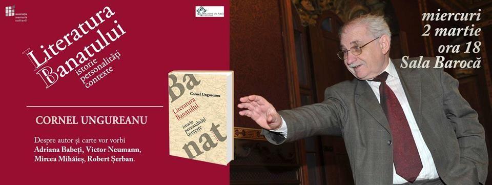 lansare de carte Cornel Ungureanu