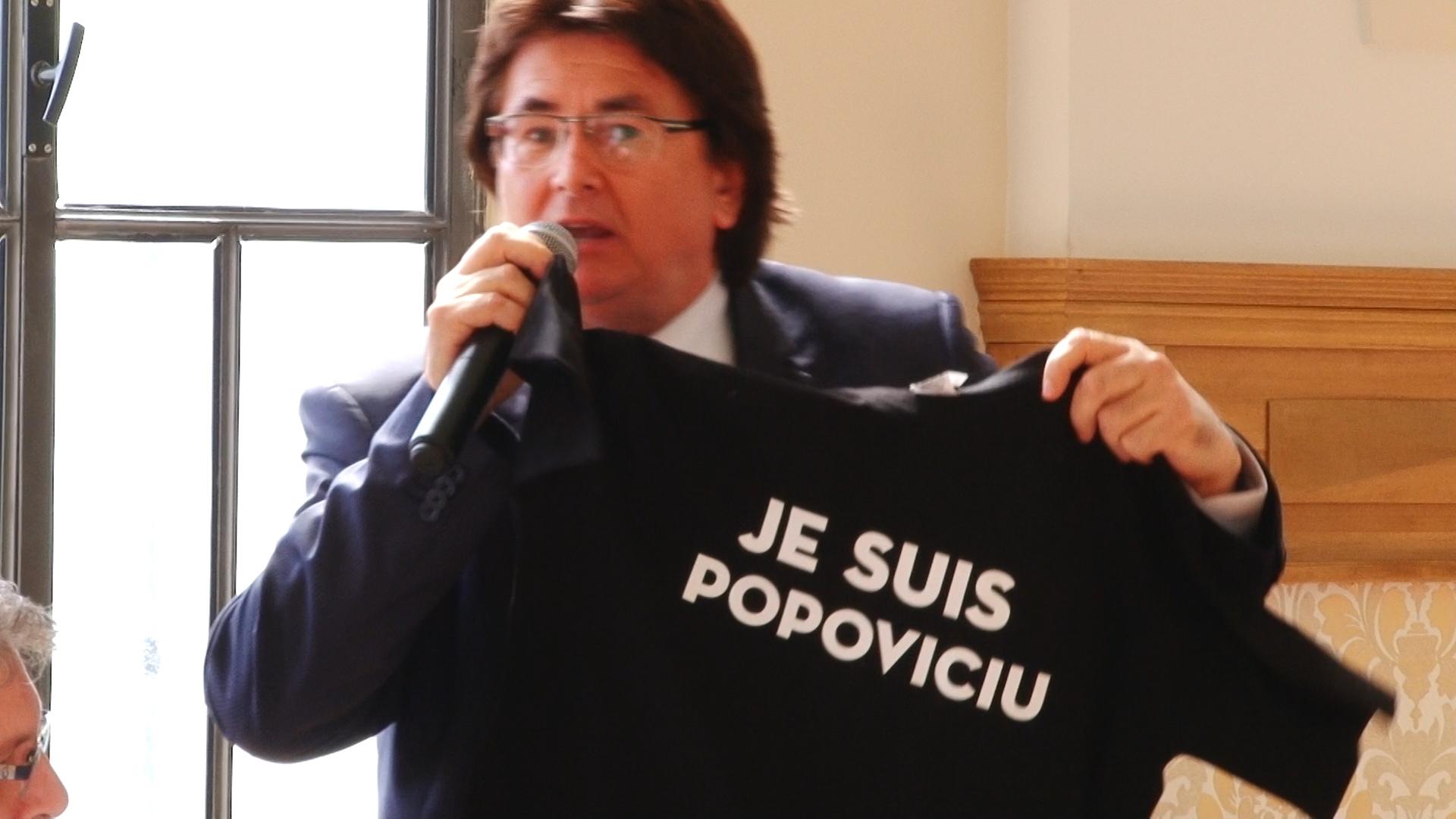 Primarul Robu şi consilierul Simonis, dispută pe… anchetatul Popoviciu.Still010