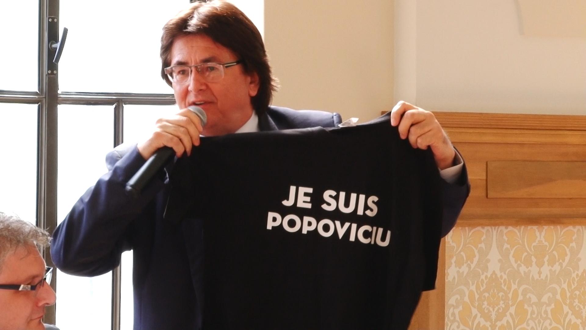 Primarul Robu şi consilierul Simonis, dispută pe… anchetatul Popoviciu.Still012