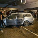 iulius mall incendiu masina (2)