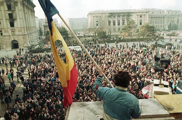 ca. December 1989 Bucharest, Romania