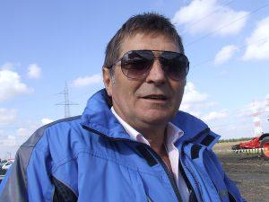 De ce fermierii din timis -Ioan Turc directorul fermei Comagra Beregsau mare timisDSCF0661