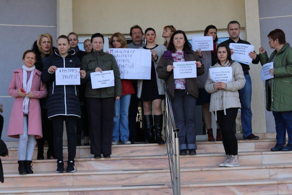 Agentia Mediu - protest 2