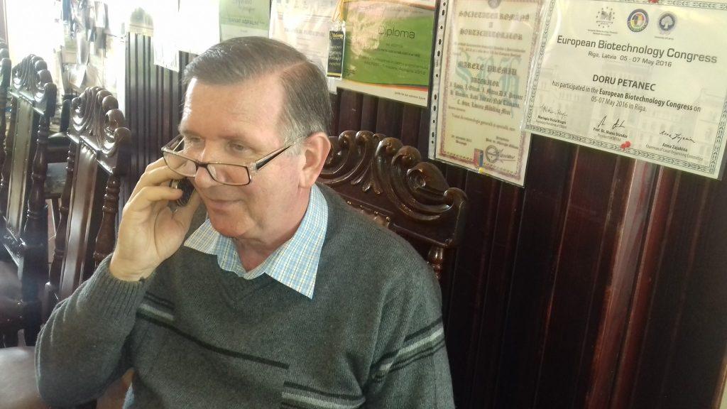 IN CAP cu arcanul -prof. dr. Doru Petanec directorul DAJ Timis