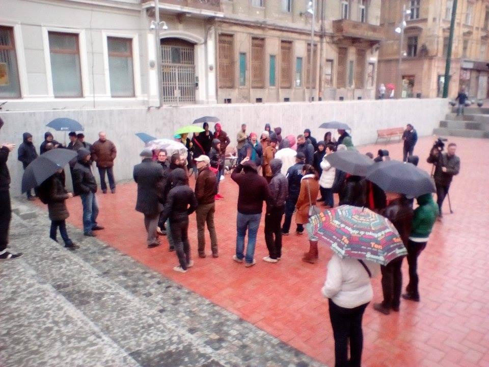Protest Piata Sf Gheorghe 1