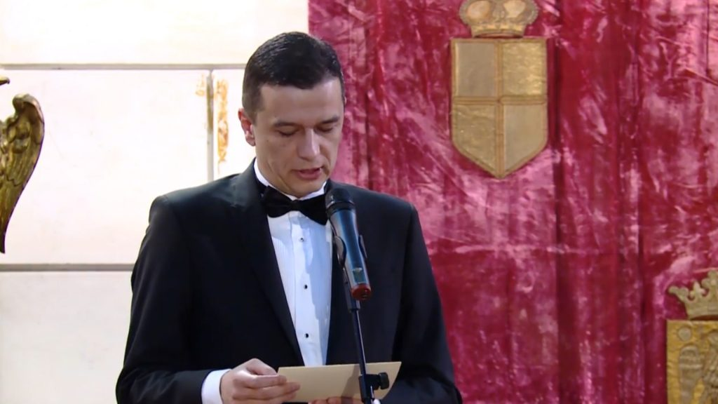 premierul Sorin Grindeanu.