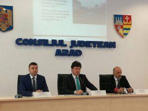 Semnare acord drumuri Arad