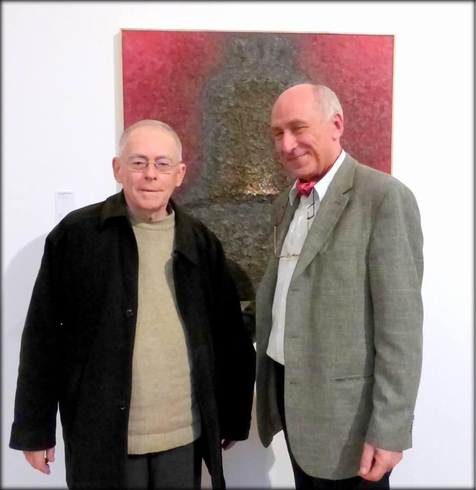 Doi colectionari Sorin Costina si George Lecca