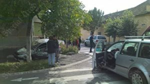 accident masina zid