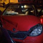 Accident cu trei raniti pe str Linistei din Timisoara (6)