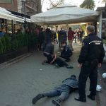 Scandal cu bătaie si cutie in Complexul Studentesc (9)
