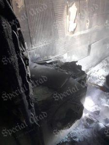 incendiu apartament special arad