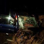 Accident cu 2 pers incarcerate DN 6 (6)