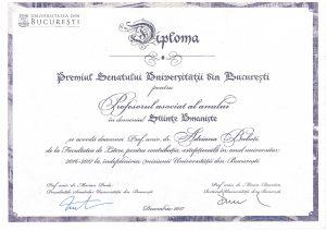 Diploma Adriana Babeți
