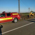 Intervenție pirotehnică în comuna Dudeștii Vechi, sat Cheglevici (4)