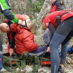Salvamont Baile Herculane actiune de salvare in muntii Mehedinti (1)