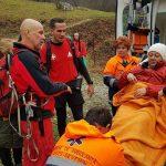 Salvamont Baile Herculane actiune de salvare in muntii Mehedinti (3)