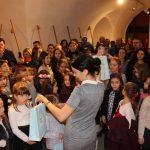 Tablouri de iarnă realizate de copii expuse la Biblioteca Județeană de la Bastion (4)