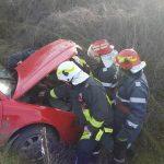 Autoturism răsturnat sag (2)
