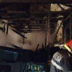 incendiu la un salas din carasova (1)