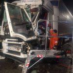 Accident auto între un autotren și un utilaj de deszăpezire, în orașul Recaș