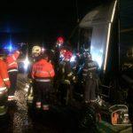 Accident auto între un autotren și un utilaj de deszăpezire, în orașul Recaș3